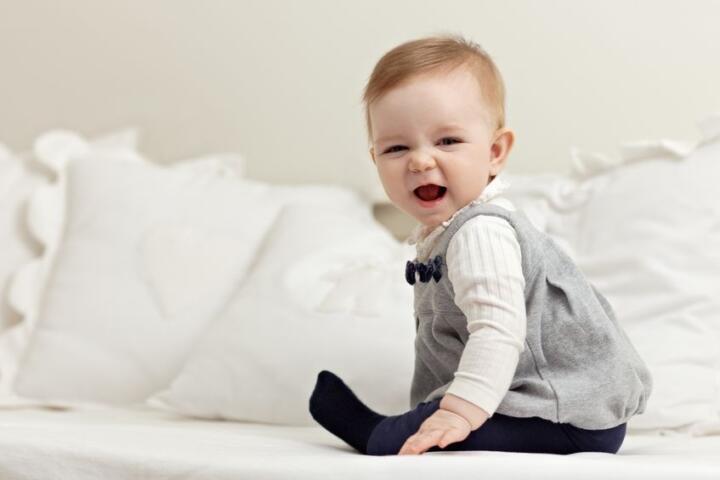 il bambino di 6 mesi