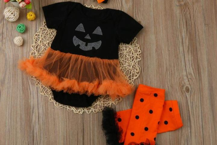 halloween vestiti neonati
