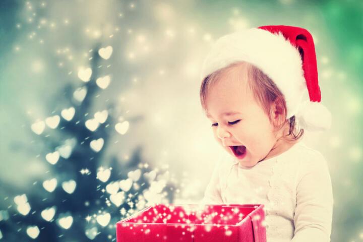 Natale far felici bambini