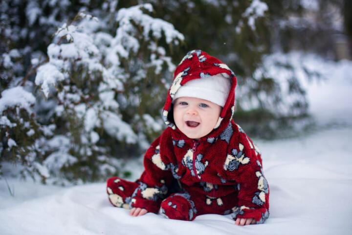 proteggere neonati inverno