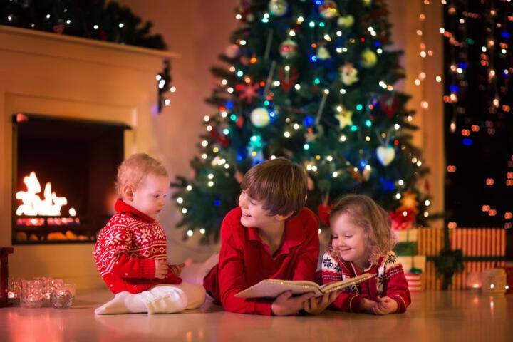 libri da colorare natalizi