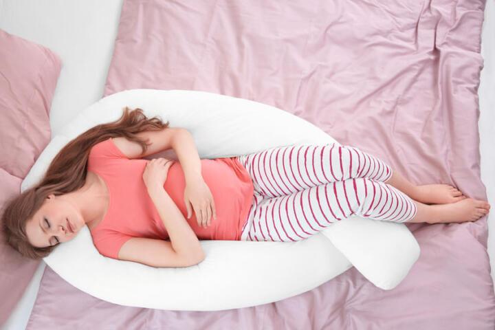 cuscino gravidanza fai da te