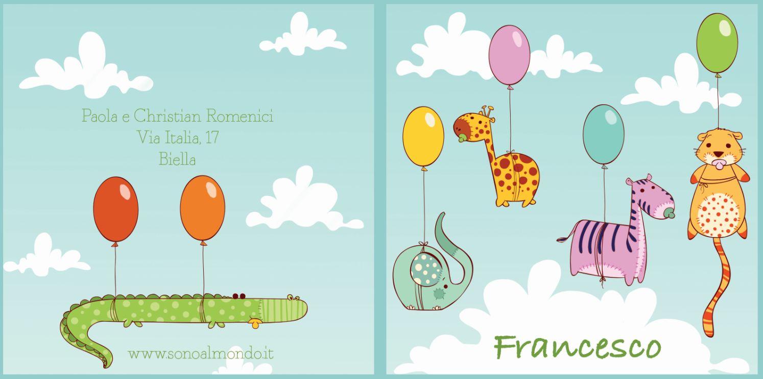 Préférence Annuncia la nascita del bambino con le cartoline di Sono al Mondo  EE02