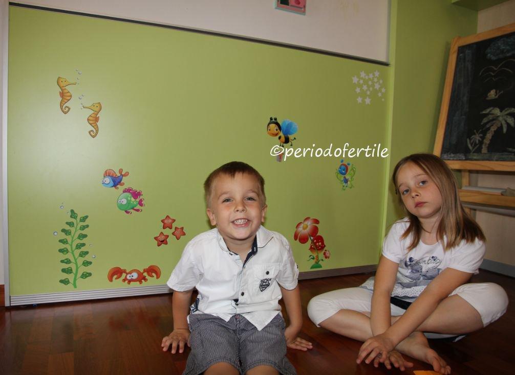 Abbellire la cameretta con i bellissimi adesivi leo for Abbellire una parete