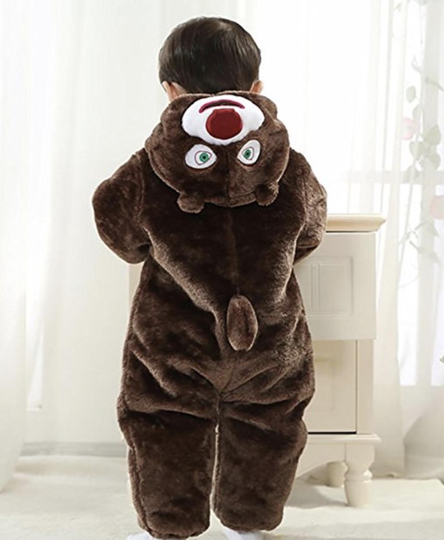vestito carnevale neonato orsetto