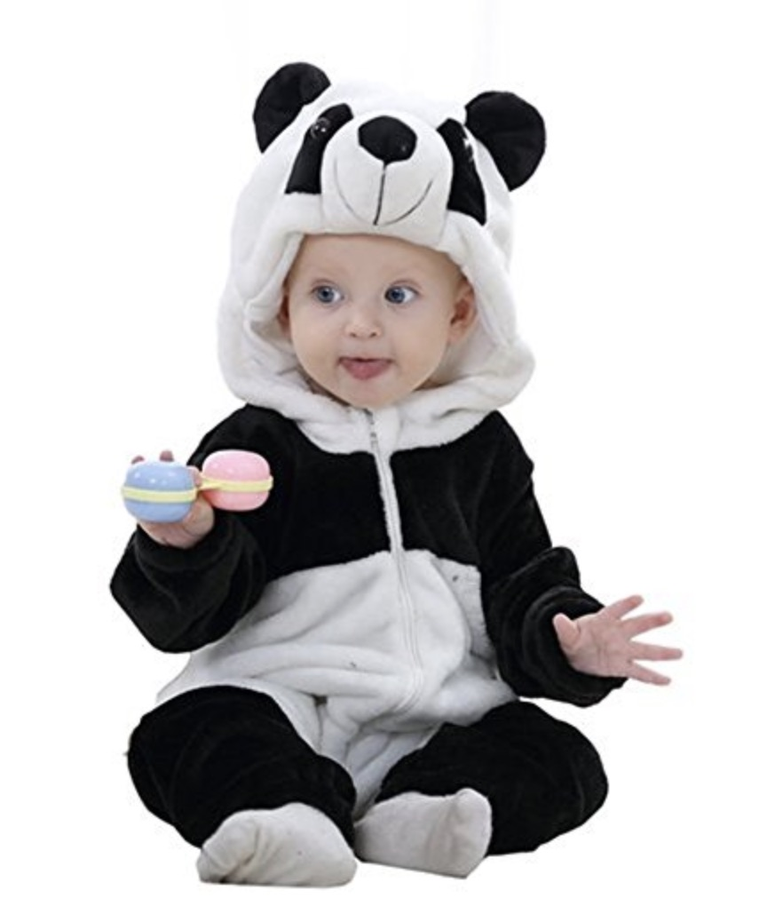 vestito carnevale panda