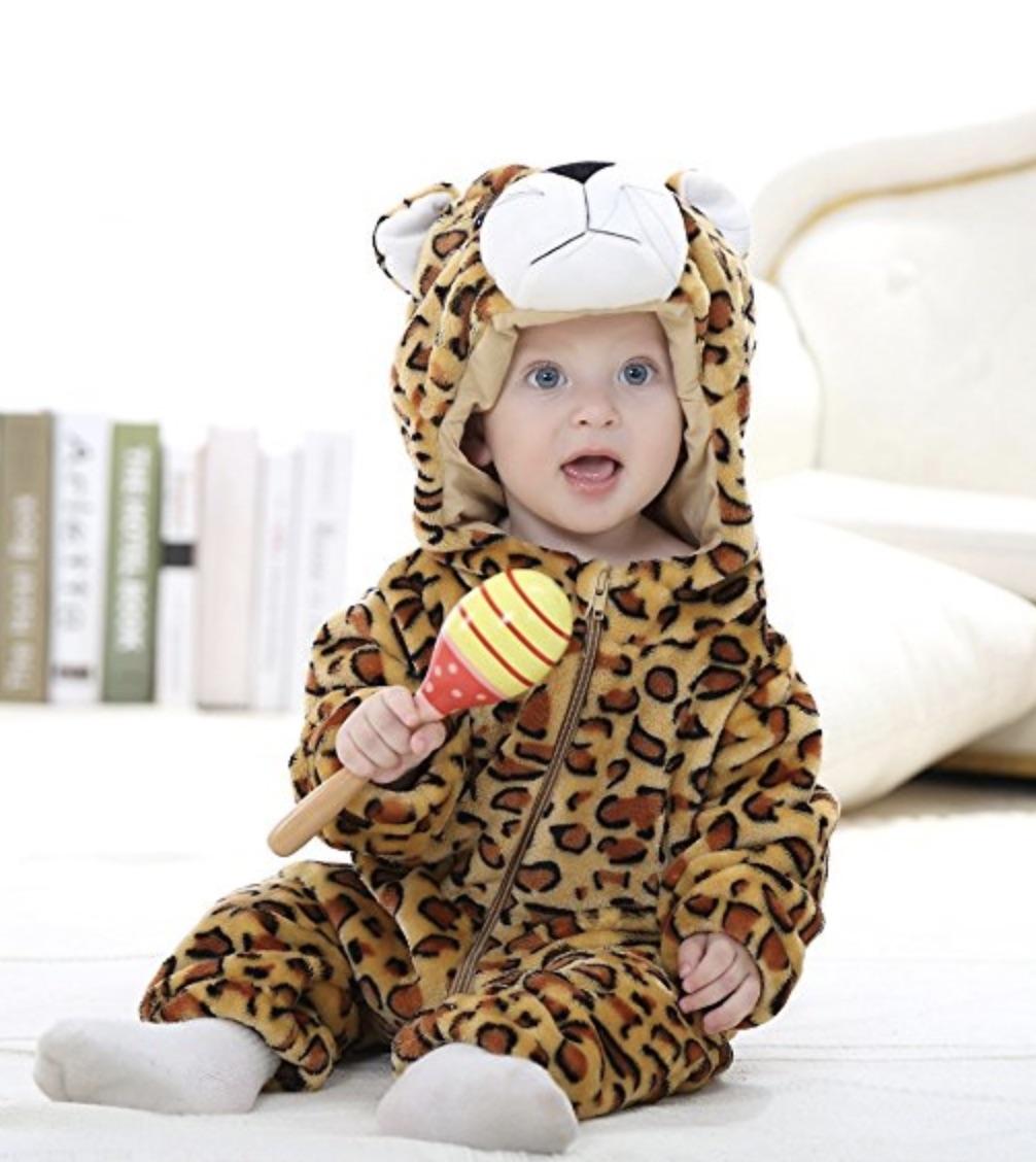 vestito carnevale leopardo