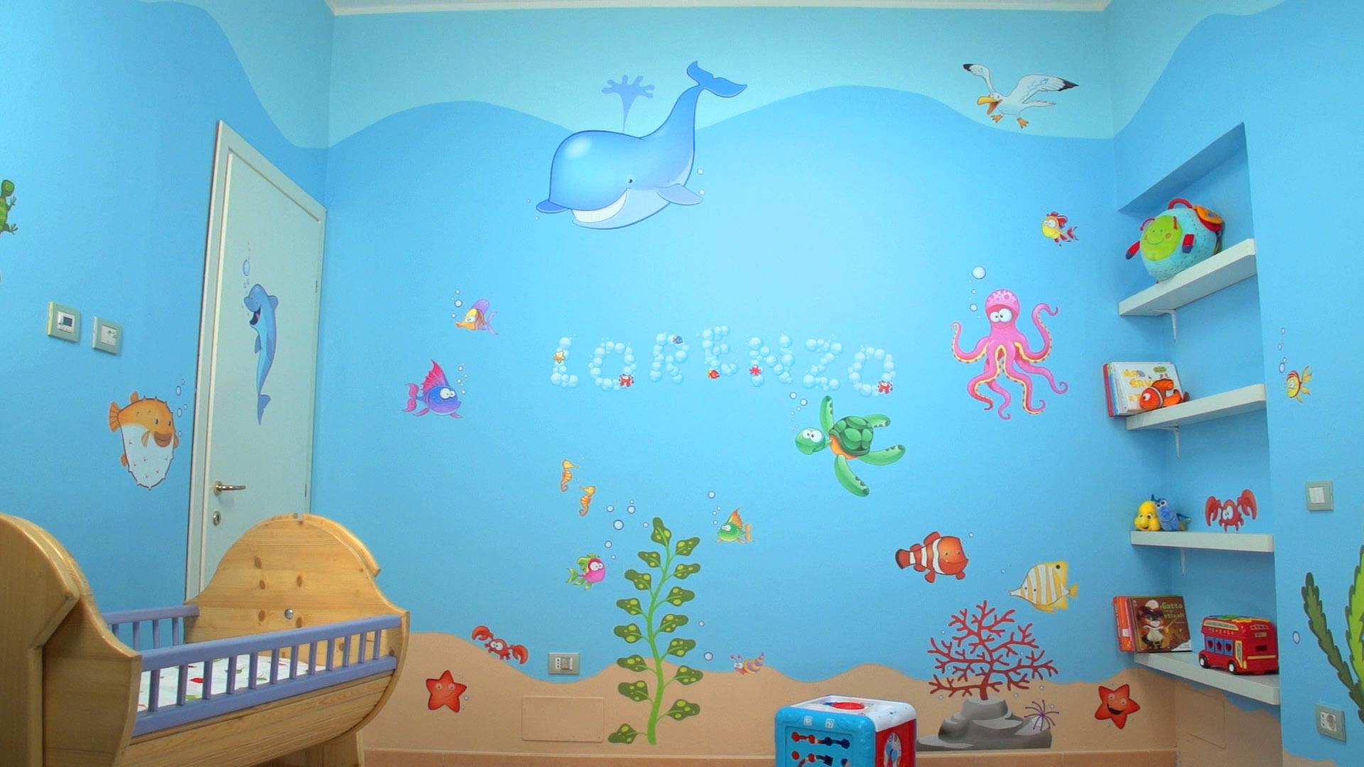 Come rendere bellissima la cameretta dei tuoi bambini for Idee pittura cameretta ragazzi