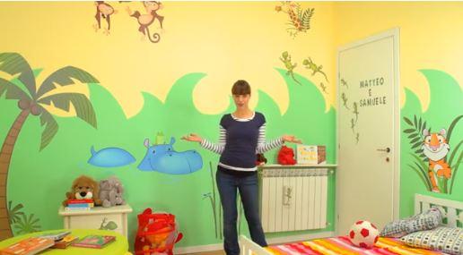 Come rendere bellissima la cameretta dei tuoi bambini - Dipingere la cameretta dei bambini ...