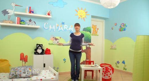 Come rendere bellissima la cameretta dei tuoi bambini - Colori camere bambini ...