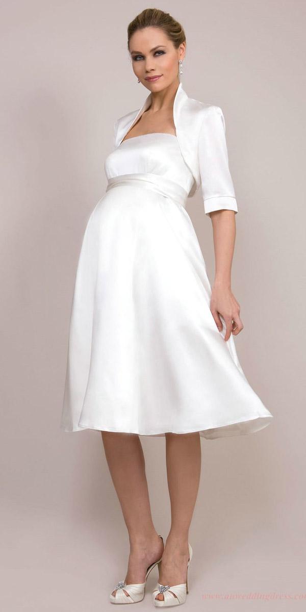 Eccezionale Gli abiti da sposa premaman? Cercateli anche sul web  LS15