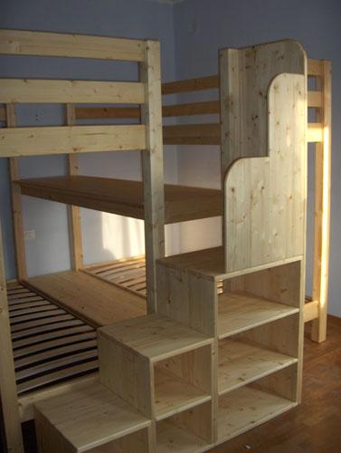 Oko bimbo negozio ecosostenibile a misura di bimbo e mobili creati a mano - Letto bimbo con sponde ...