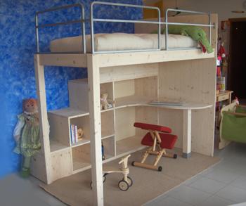 Oko bimbo negozio ecosostenibile a misura di bimbo e for Letto rialzato ikea