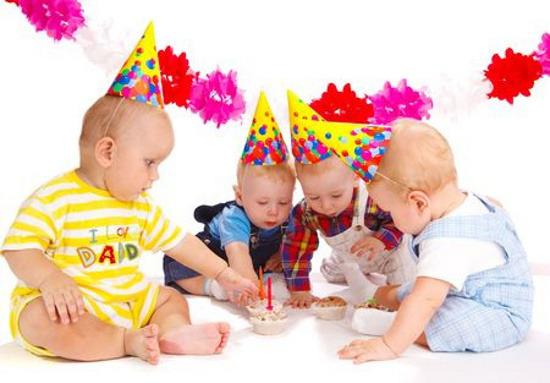 Amato Il primo compleanno dei gemelli - PeriodoFertile.it ZZ37