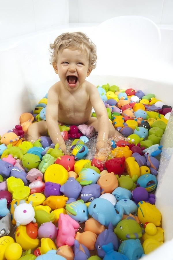 Les amis du bain-Enfant-1