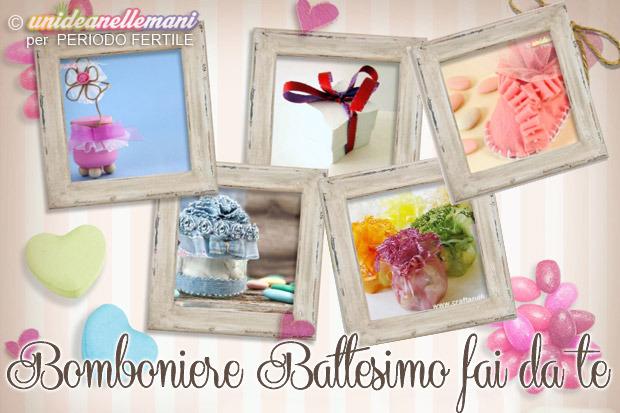 Molto Bomboniere battesimo fai da te: 5 idee economiche - PeriodoFertile.it KF45