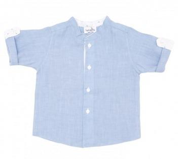 camicetta azzurra