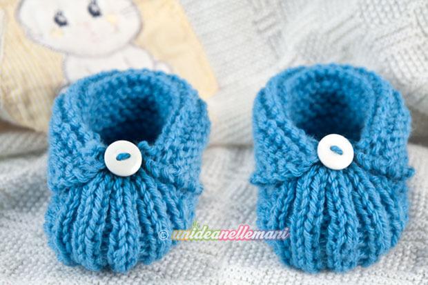 Scarpine per neonati: 8 tutorial per farle da sola - Periodo Fertile