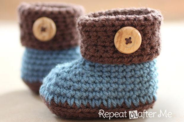 Conosciuto Scarpine per neonati: 8 tutorial per farle da sola - PeriodoFertile.it LW22