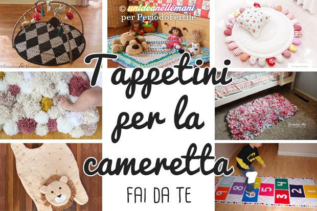 Tappeti fai da te per bambini tante originali idee per la - Tappeti per cameretta bimba ...