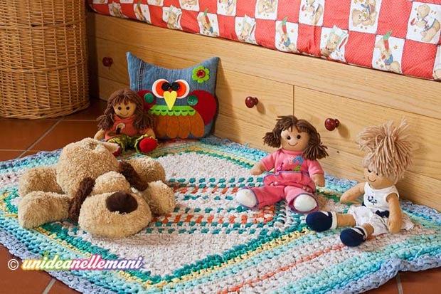 Tappeti fai da te per bambini: tante originali idee per la cameretta ...