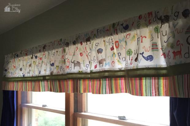 Tende per la cameretta dei bambini idee fai da te - Tende per camerette neonati ...