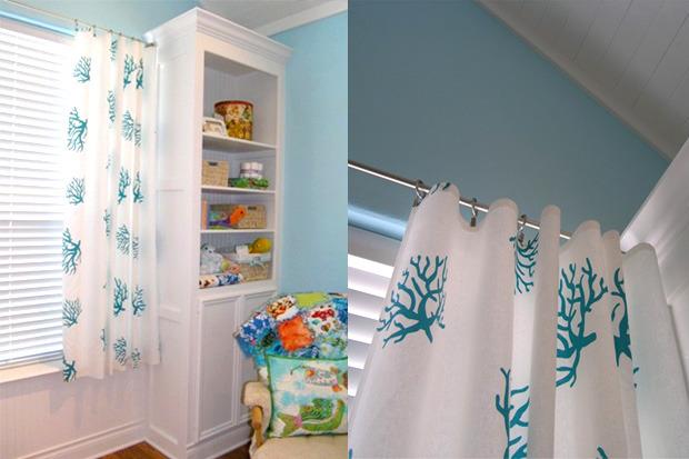 Tende per la cameretta dei bambini idee fai da te - Tende da camera da letto classiche ...