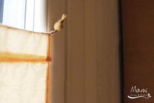 Tende per la cameretta dei bambini idee fai da te for Cucire tende a vetro