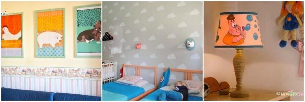 Arredare la cameretta dei bambini 12 idee fai da te - Quadri per cameretta bambini ...