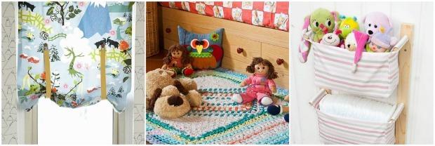 Arredare la cameretta dei bambini 12 idee fai da te - Decorazioni camera bimbi ...