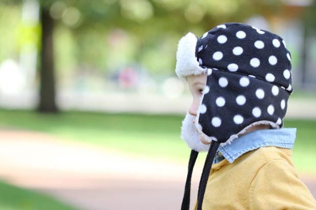 cappello fai da te trapper bambino