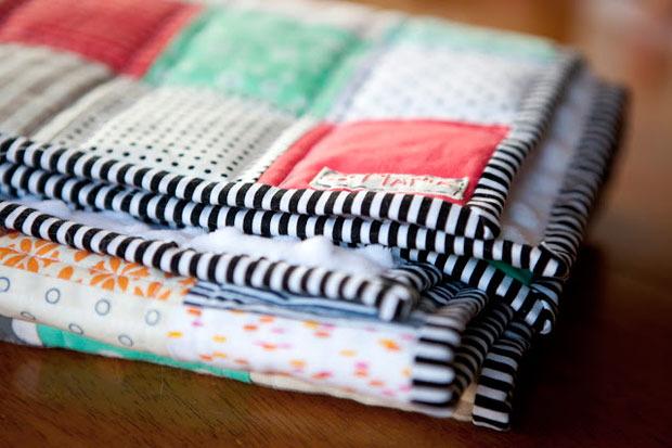 copertina patchwork per bambini, copertina patchwork per neaonato,