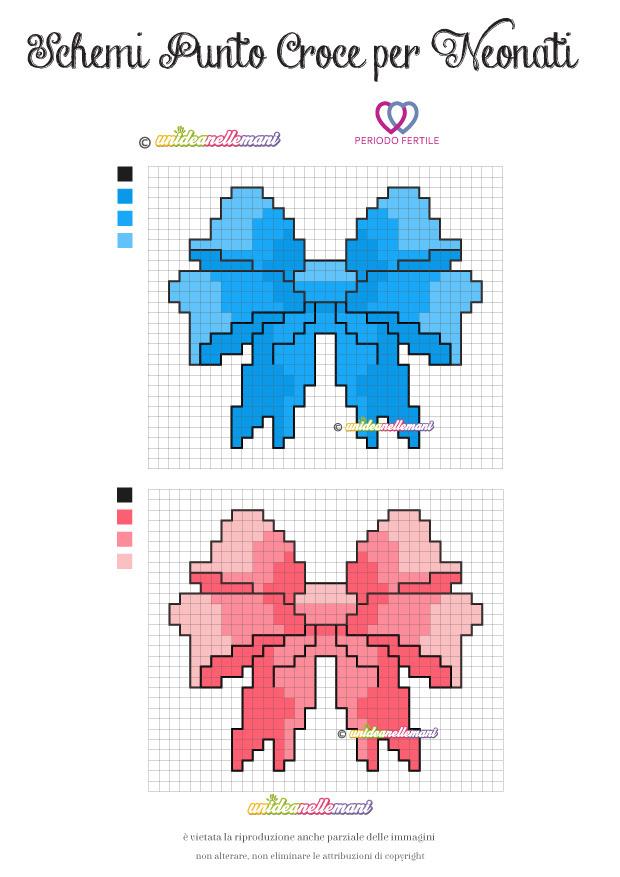 Disegni per neonati perfect disegni di pesci da colorare for Ricami punto croce per neonati