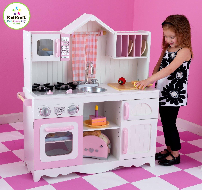 leomark cucina classic rosso giocattolo in legno cucina ...