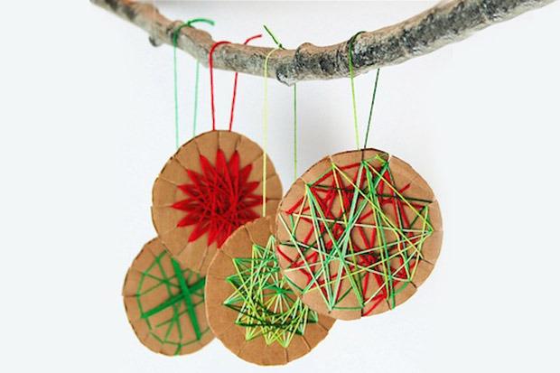 Addobbi e decorazioni natalizie da fare con i bambini for Decorazioni da tavolo natalizie