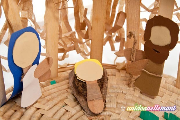 Addobbi e decorazioni natalizie da fare con i bambini - Decorazioni di natale con materiale riciclato ...