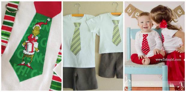 vestire i bambini a natale idee per creare da sole