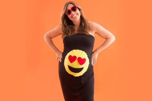 costume-donna-incinta-Emoji