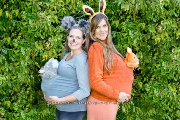 costumi di Carnevale per mamme col pancione