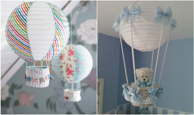 13 idee per creare simpatiche lampade per la cameretta dei - Lampadari da cameretta ...