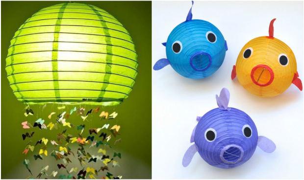 13 idee per creare simpatiche lampade per la cameretta dei bambini ...