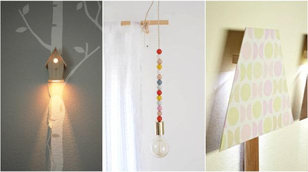 13 idee per creare simpatiche lampade per la cameretta dei - Lampade bambini design ...