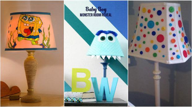 13 idee per creare simpatiche lampade per la cameretta dei - Cameretta fai da te ...