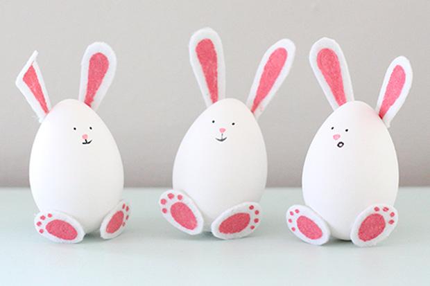 Lavoretti pasqua ecco come decorare le uova insieme ai bambini - Uova di pasqua decorate ...