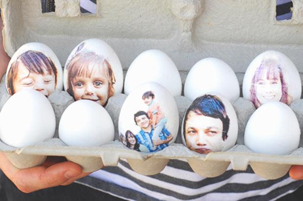 Lavoretti pasqua ecco come decorare le uova insieme ai - Uova di pasqua decorati ...