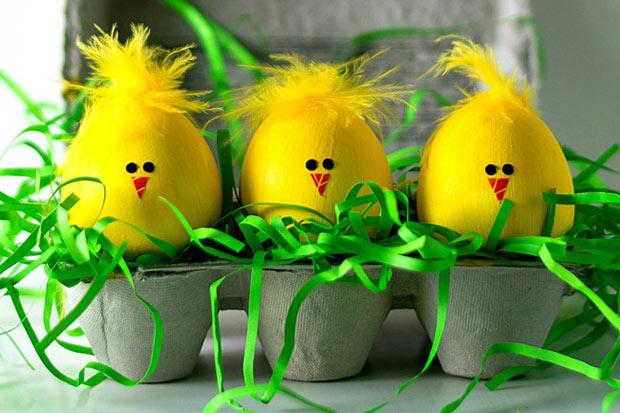 Lavoretti pasqua ecco come decorare le uova insieme ai - Idee per decorare uova di pasqua ...