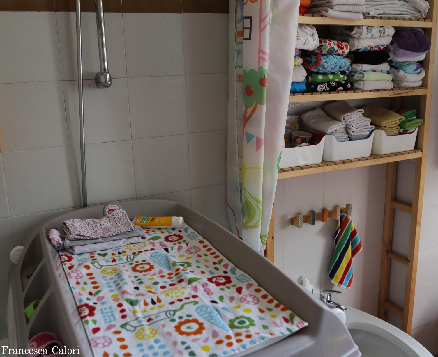 5 consigli per un fasciatoio organizzato - Fasciatoio da bagno ...