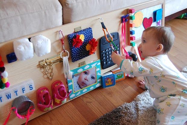 Giochi sensoriali per bambini:10 idee fai da te da costruire
