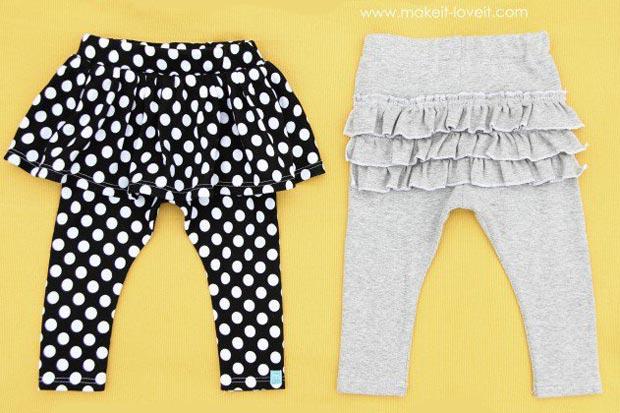 pantaloni-bambina-ruches