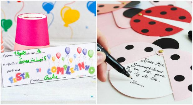 Preferenza Festa di compleanno per bambini: tante idee fai da te  YC92
